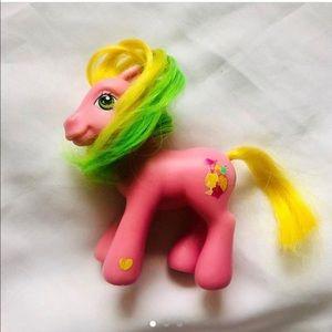 Y2K 2004 Pineapple Paradise My Little Pony MLP Toy